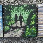 Shady lane. Gordon Hunt. Wychwood Arts. group-6ecf1342