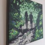 Shady lane. Gordon Hunt. Wychwood Arts. side view-08646f56