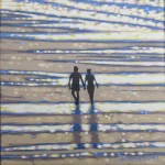 To walk on a beach in the sunshine. Gordon Hunt. Wychwood Arts. 1 image-711e44c9