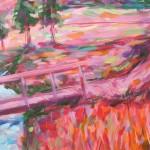 Charmaine Chaudry Crossing the Brook Wychwood Art Closeup-ef81b379