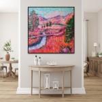 Charmaine Chaudry Crossing the Brook Wychwood Art Insitu landscape-d1fc16a4