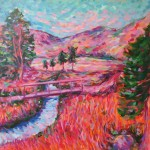 Charmaine Chaudry Crossing the Brook Wychwood Art Landscape-433f041b