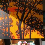 Dreams of sunshine. Gordon Hunt. Wychwood art. 3. work in progress-5332a4cf