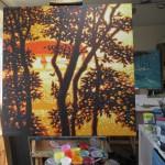 Dreams of sunshine. Gordon Hunt. Wychwood art. 5. in studio-67c491ba