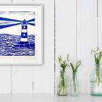 Jess Harrington Cornish Lighthouse Insitu Wychwood Art-ab60728e