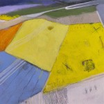 Rachel Cronin Yellow Fields II Wychwood Art Close Up-1dac8ce7