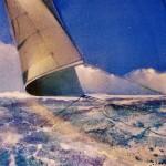 The loose sail.Detail 1-05db1eaf