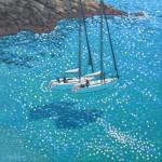 turquoise cove rendezvous. gordon hunt. wychwood art. 2. full image-7022e104