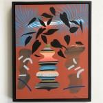 Adam Bartlett Orange Summer White Background Wychwood Art-543bb2dd