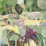 Elaine Kazimierczuk, Pink, Yellow and Purple in the Merton Beds, Wychwood Art-572f2a16