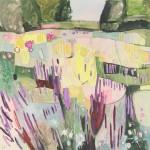 Elaine Kazimierczuk,Yellow, Pink and Purple in the Merton Beds, Wychwood Art-d78a7097