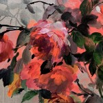 Jo Haran Rose Bush on Silver Wychwood Art 11-188a2d6f