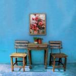 Jo Haran Rose Bush on Silver Wychwood Art 2-a7d1620d