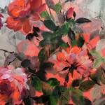 Jo Haran Rose Bush on Silver Wychwood Art 8-3962f76b