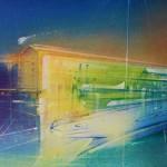 Nightscape marina.acrylic on canvas.24ins.x16ins.Gerard Tunney.£650.2021. – Copy – Copy (2)-2c0cf90c