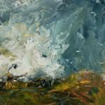 SHADOWS AND SUNLIGHT 30 x 30 cm Oil on unframed birchwood panel £495-ef5ea029