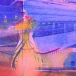 hotel marina reflection.acrylic on canvas.24ins.x12ins.Gerard Tunney.£650.2021 – Copy – Copy (2)-14c7137e