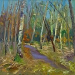 2. Tress on the Common 30×30 cm oil on canvas -70082a4b