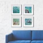 3. Just swim. Gordon Hunt. Limited edition print. Group of prints-65b12423