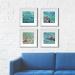 3. Just swim. Gordon Hunt. Limited edition print. Group of prints-cbe06763