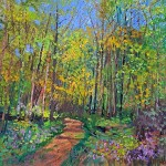 9. Spring is in the Air 60x60cm oil on canvas -1c834268