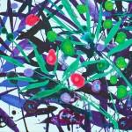 Becca Clegg Cromer Grasses – Turquoise -Wychwood detail 2-3d6477bb