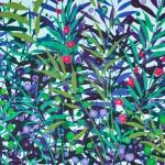 Becca Clegg Cromer Grasses – Turquoise -Wychwood detail 3-441456d8