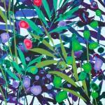 Becca Clegg Cromer Grasses – Turquoise -Wychwood detail-e2cf29fe