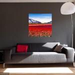 Becca Clegg Stripy Tulip Field 70cm square-5dc2d405