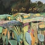 Elaine Kazimierczuk, Fun with Agapanthus and Helianthus, Wychwood Art-dd4c4da9