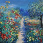 Mary Chaplin Magical ligth in Monet's garden in Giverny Wychwood Art-3746cbf7