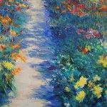 Mary Chaplin Magical ligth in Monet's garden in Giverny detail 1 Wychwood Art-d228696b