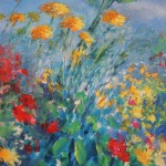 Mary Chaplin Magical ligth in Monet's garden in Giverny detail 2 Wychwood Art-67f0f792