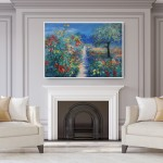 Mary Chaplin Magical ligth in Monet's garden in Giverny in situ 3 Wychwood Art  (1)-23ce49a0