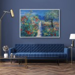 Mary Chaplin Magical ligth in Monet's garden in Giverny in situ 3 Wychwood Art  (3)-f67741d9