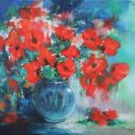 Mary Chaplin bouquet of wild poppies Wychwood Art -d733bc62