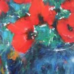 Mary Chaplin bouquet of wild poppies Wychwood Art (detail 1 )-3d1bc286