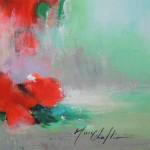 Mary Chaplin bouquet of wild poppies Wychwood Art (signature)-ee044de5