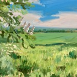 Sam Travers Horse Chestnut May Wychwood Art-23492bb0