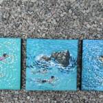 Swim study – blue. gordon hunt. wychwood art. group-a71db66f