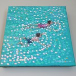 Swim study – turquoise. gordon hunt. wychwood art. on the wall-f95908e7