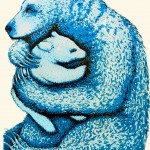 Tim Southall, Bear Hugs Ceruleum, 68 x 48 cm, £295-30b22f3e