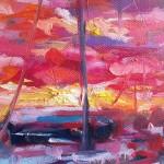 Charmaine Chaudry Harbour Sunset Wychwood Art Closeup3-b39d3dde