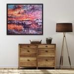 Charmaine Chaudry Harbour Sunset Wychwood Art Insitu-269810de