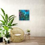 Alanna Eakin Irvine Wychwood Art Palm Tree Oil Painting Medium sized in situ 2-c4f4bd10