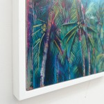 Alanna Eakin Irvine Wychwood Art Palm Tree Oil Painting the moon turquoise detail 1-e96719e9