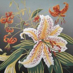 Alexandra Buckle Woodland Lilies Wychwood Art-290a9fa8