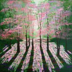 Amanda Horvath  Beyond the Morning Landscape Painting, Impressionist Art, Affordable Contemporary Painting-31b72485