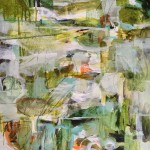 J.Keith Green Garden Wychwood Art 2mb Abstract,Expressionist,green,paper,large,atmosphrer,garden copy-f3a26f67