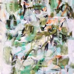 J.Keith Green Thought Wychwood Art  1.7 mb green, Abstract,Expressionist, paper,large,atmosphere -853c9c69